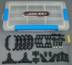 Photo1: VSS front end set for Kyosho/Speed Merchant/Associated L4/CRC compatible