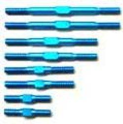 Photo1: Duralumin turn buckle 20.0mm to 50.0mm  (2pcs) light blue