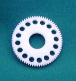 Photo2: Ultimate Machine cut spur gear 64P 70T