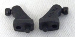 Photo1: VD12 Rear side shock mount (1 pair)