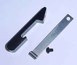 Photo1: Battery bar holder for Deans Speed Jig (black)