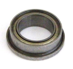 Photo1: FLANGED SEALED BEARING (1/4x3/8inch) 4pcs